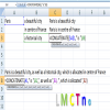 Function Concatenate in Excel which combines content in Excel