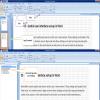 toolbar of MS word views